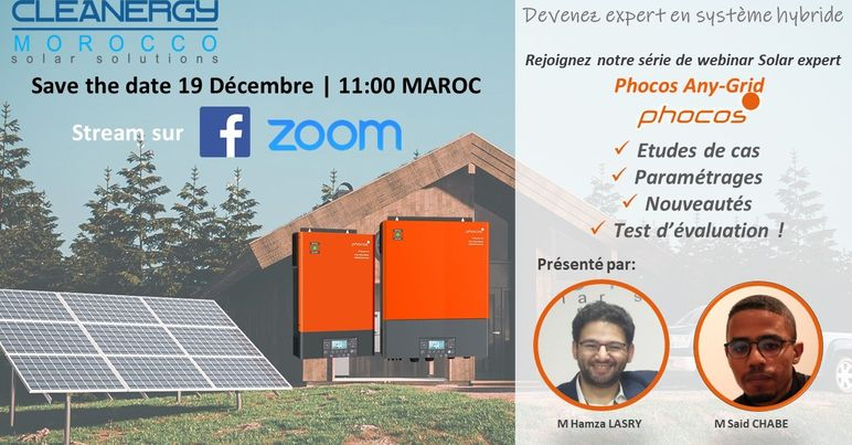 Formation Phocos Anygrid le 19/12/2020